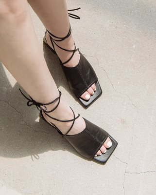 two-way sandal mule_black