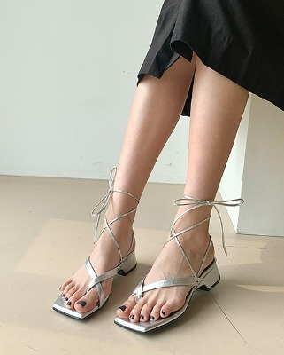 summer two-way mule_silver