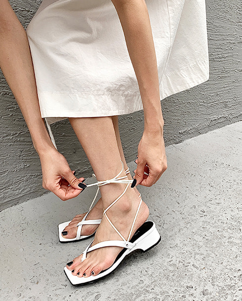 summer two-way mule_white